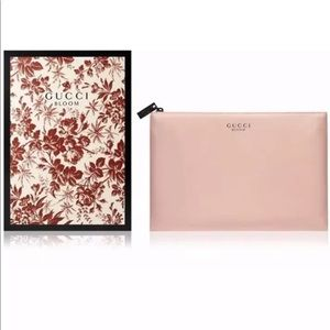 Limited edition GUCCI BLOOM BEAUTY pouch